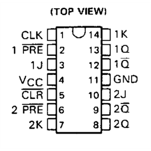 Datasheet together with Pinout Diagram For 7400 likewise Default besides 810648001647033052 as well 74ls74 Pinout Diagram. on 74ls76 datasheet